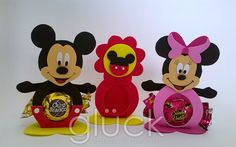 PORTA BOMBOM **MINNIE E MICKEY**