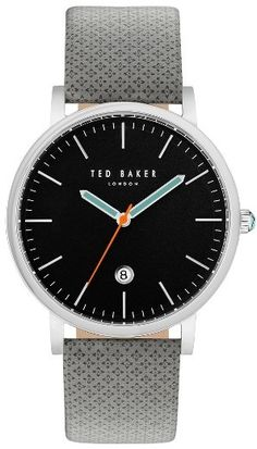 4129d4c543ac32 Ted Baker London Graham Leather Strap Watch, 42Mm Dot Watch, Beautiful  Watches, Smooth
