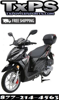 Vitacci Spark 150cc Scooter Gy6 4 Stroke Air Cooled Start For Online Sale At Txpowersports Com In 2020 150cc Scooter 150cc Gas Scooter