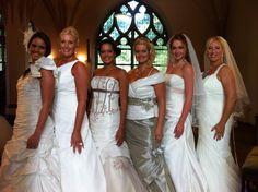 Jamm Models bruidsshow in de Martinikerk Groningen 2012