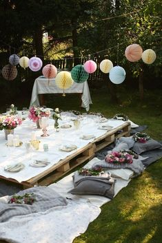 36 perfect garden party decorations for outdoor wedding ceremony boho party Garden Parties, Garden Party Wedding, Outdoor Parties, Summer Parties, Wedding Backyard, Boho Garden Party, Outdoor Fun, Wedding Summer, Outdoor Ideas