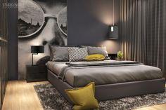 STUDIO NACRT EN 52M2 | StudioNacrt Design Loft, Sweet Home, Bedroom, Walls, Furniture, Studio, Home Decor, Environment, Home