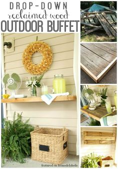 Build a Drop Down Buffet - Feature from Remodelaholic