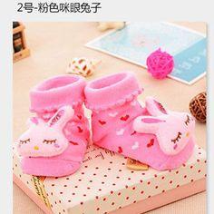 24 Styles, Lovely Cute Anti-slip Baby Boys Girls Socks