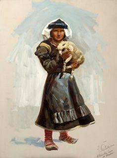 Albanian woman from Skadar