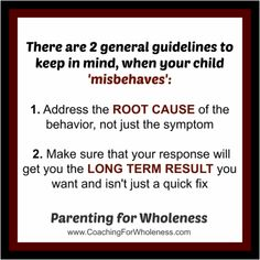 "Article by Eliane ""The #1 Question to Ask When Your Child 'Misbehaves'"" Parenting For Wholeness ~ Positive parenting that works, heals, and changes the world."
