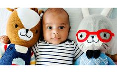 Absolutely love the new fair trade Cuddle & Kind handknit dolls that feed 10 hungry kids with every one sold.