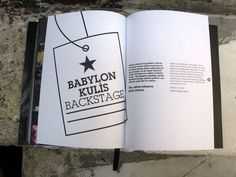 10 years of Babylon 10 Years, Backstage, Books, Libros, Book, Book Illustrations, Libri