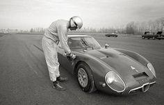 Alfa Romeo TZ2, Balacco test...