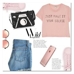 """Just Make It Your Selfie!"" by christinacastro830 ❤ liked on Polyvore featuring Monki, AG Adriano Goldschmied, adidas, Karl Lagerfeld and Matthew Williamson"
