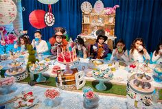 Inspiracao festa Alice