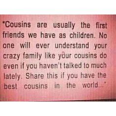 Cousins...LOVE
