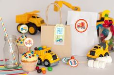 Cars and Trucks Birthday Party Ideas