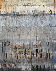"""59/""""x20/"""" AFRICAN ENCOUNTER by JENNY VERPLANKE ABSTRACT CANVAS"""