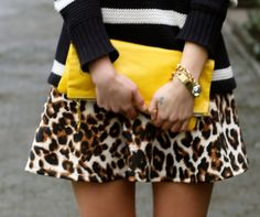 blogger a fashion love affair with the yellow fold over clutch