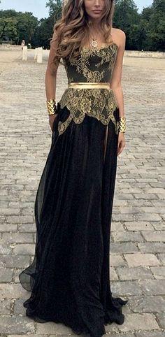 Ph15601 Schwarz und Gold Kleid gatsby inspiriert party kleid prom kleider 2015(China (Mainland