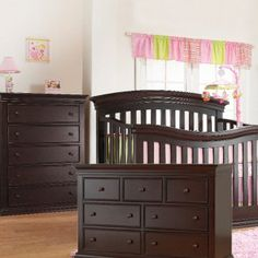 This Sorelle 3 Piece Set In Espresso Includes The Crib To Full Size Convertible Verona Baby Furniture