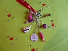 """Porte clé thème """"Merci maîtresse"""" : Porte clés par brico-nad"""
