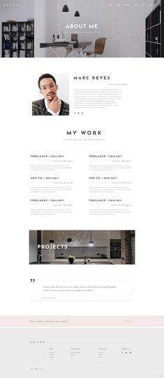 Make a stunning website today with Entré WordPress theme! #wordpress #webdesign #theme #layout #architecture #architect #interiordesign #decor #homedecoration #portfolio #furniture