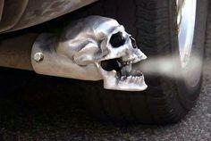 Skull tip