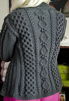 47a5dcd6a39c46 Ravelry  Ruth pattern by Donna Druchunas frree cardigan aran Knitting  Stitches