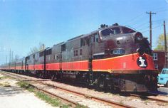 https://flic.kr/p/73BnQz   Illinois Central Governor's Special,EMD E-6 4001 leading