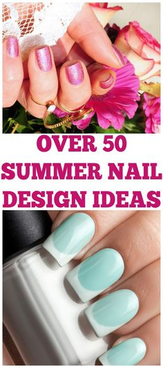 Looking to pamper yourself this summer with some cute nails? Here are some great nail designs perfect for summer. Nail designs | Nail design for summer | nail design inspiration | beauty