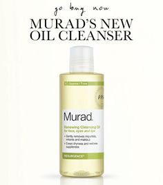 Oil for face cleanser -- is it worth trying? via WhoWhatWear