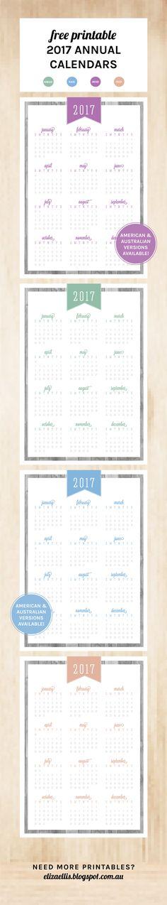 Des petits DIY pour commencer l\u0027année bien organisée Diys - Perpetual Calendar Template