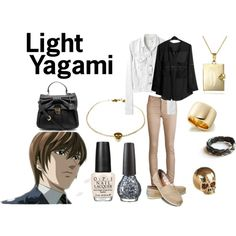 """""""Light Yagami"""" by casualanime on Polyvore"""
