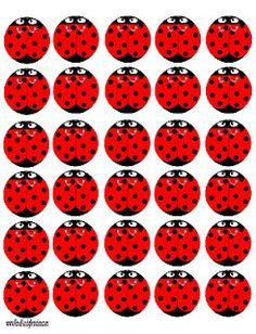 Printable Ladybugs