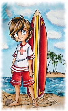 Color of Happy: Lifeguard