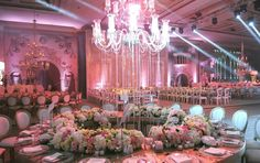 Romantic and extravagant wedding table decor   Inspiring post by Bridestory.com, everyone should read about One Couple's Lavish Grand Wedding in Beirut on http://www.bridestory.com/blog/one-couples-lavish-grand-wedding-in-beirut