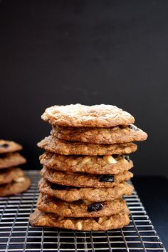 Maple, White Chocolate and Cherry Oatmeal Cookies | Joy the Baker