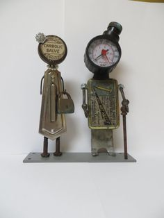 Puttin' on the Ritz an industrial art assemblage by TheLostKey, $52.00