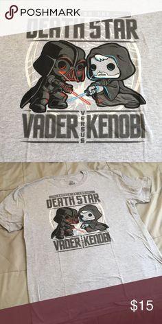 Star Wars Death Star Vader vs Kenobi Worn only once men's XL shirt. Great condition Star Wars Shirts Tees - Short Sleeve