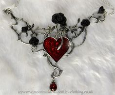 Alchemy Bed of Blood Roses Necklace