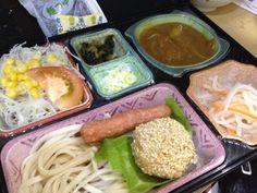 一口コロッケ 冷やしうどん ピーナッツなます - 1件のもぐもぐ - 野菜たっぷりチキンカレー by kurita820