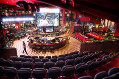 O'Learys Tolv Stockholm, Northern Europe's biggest sports bar. Interior design concept and build by Adolfsson & Partners.