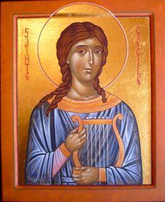 St. Cecilia - November 22 - by Claudette Zeimes-Wagener