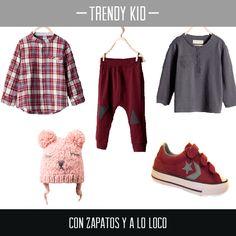 Para que tu hijo vaya a la última te proponemos este #outfit en el que destacan las #zapatillas Converse en granate y gris, los colores de la temporada. Encuéntralas aquí http://calzadorodriguez.com/es/ninos/3133-zapatilla-deportiva-con-velcros-color-burdeos-converse.html Para niños modernos  :)