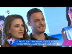 Kerem Bürsin & Serenay Sarıkaya Röportajı   Magazin 8