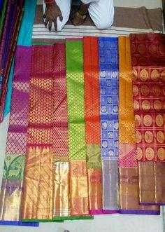 Kanchi puram sarees South Indian Sarees, Ethnic Sarees, Silk Saree Kanchipuram, Banarasi Sarees, Off White Saree, Indian Colours, Wedding Silk Saree, Saree Photoshoot, Exotic Women