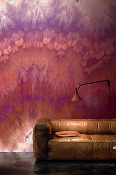 Grenat wallpaper panel from Azuli by Casamance. Stunning!