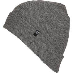 Billabong Unisex Arcade Beanie ($15) ❤ liked on Polyvore featuring accessories, hats, beanie, men, light grey heather, beanie cap hat, billabong, beanie cap, cuff beanie and billabong hat