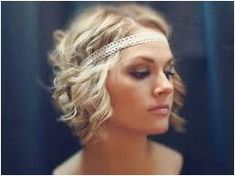 Lots of celebrities these days sport short curly hair styles, but some of them really stand out. When we think of curly short hair, the image of AnnaLynne Headbands For Short Hair, Short Curly Hair, Short Hair Styles, Boho Hair Short, 1920s Hair Short, Thick Hair, Pigtail Hairstyles, Fancy Hairstyles, Hairstyles Men