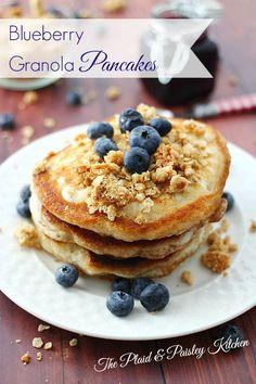 Blueberry Granola Pa