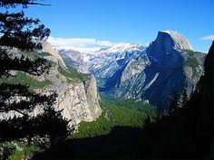 Half Dome  Yosemite National Park, CA, USA