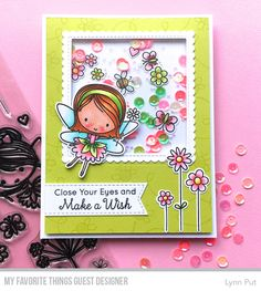 Handmade card from Lynn Put featuring products from My Favorite Things #mftstamps