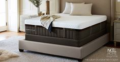 Queen Stearns and Foster Lux Estate Hybrid Shylah Luxury Firm Mattress (Lola Marie) Extra Firm Mattress, Euro Top Mattress, Mattress Sets, Pillow Top Mattress, Mattress Springs, Foam Mattress, Queen Mattress, Stearns And Foster Mattress